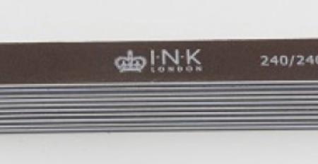 10 Pack Pro Files - 240/240 Straight - Recht Bruin
