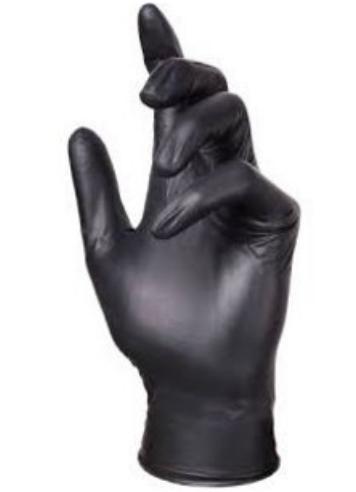 Ebony - Nitril Zwart Poedervrij - Medium