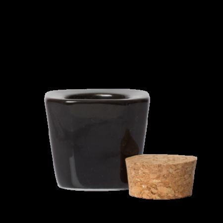 dappendish vloeistof potje zwart Ink London Wes'thetique