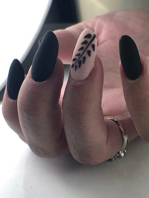 matte topcoat velvet Ink London wes'thetique