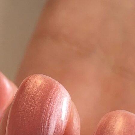 gelpolish nude pink pearl wes'thetique Ink London