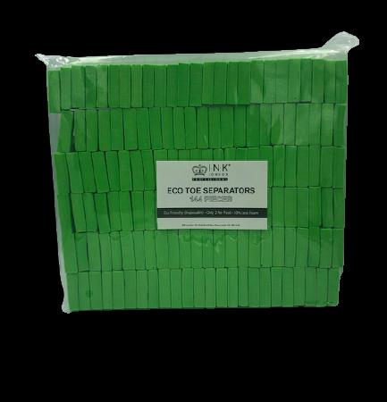Toe Separators - Green (144 Stuks) Ink London Wes'thetique