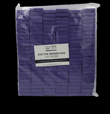 Toe Separators - Purple (144 Stuks) Ink London Wes'thetique