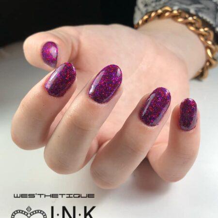 Ink London gelpolish gellak Wes'thetique glitters Edison