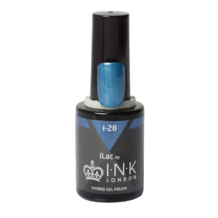 iLac - i-28 - Metallic Blue Wes'thetique Ink London