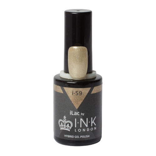 iLac - i-59 - All Gold Glitter Wes'thetique Ink London