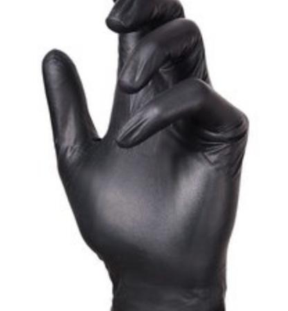 handschoenen nitril zwart wes'thetique