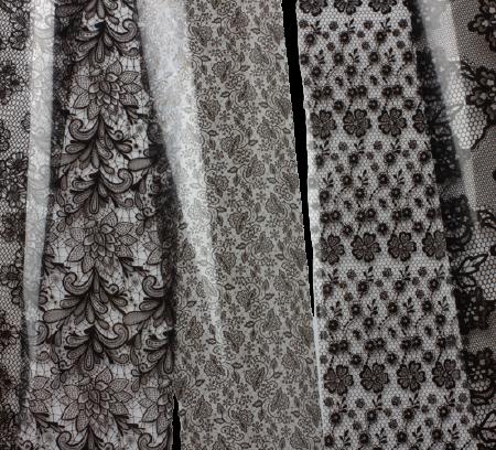 Foil lace Ink London Wes'thetique