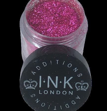 Ink London glitter pink roze